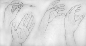 Hand sketches by sfogato