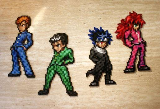 YuYu Hakusho - Team Urameshi by Brentimous