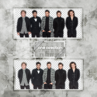 ONE DIRECTION PNG Pack #5 by LoveEm08