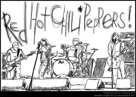 Red Hot Chili Peppers by LucasSandes