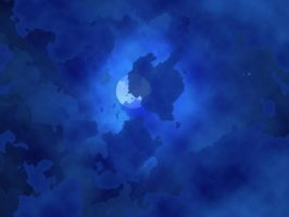 Moon through the clouds BG by InsaneSonikkuFan