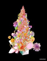 christmas tree by dodecahead