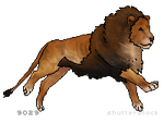 Lioden Lion Tag by Honey-Hill