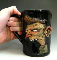 Malcontent Yokel Mug- FOR SALE by thebigduluth