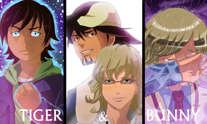 Tiger and Bunny by blue1style