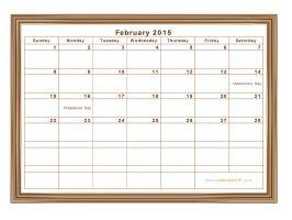 2015-Calendar-February-Printable-2 by allpictureimage