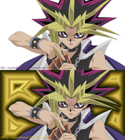Yami - I Activate The Magic Card, Black Twin Burst by usagisailormoon20