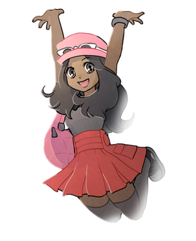 Transparent Pokemon XY Girl Trainer by Shattered-Earth