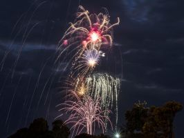 Fireworks 1 Rye Foreshore by djzontheball