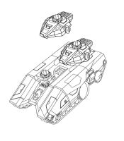 Turreted 'Razorback' APC by WordBearer