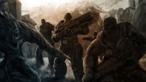 Gears of War 3 by cindyrellacheng