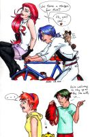 Pkmn: Bicycle Thieves by pedal