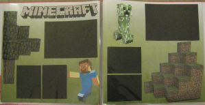 Minecraft Scrapbook Pages by Anthro7