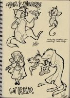 From my Sketchbook 06 by Sandora