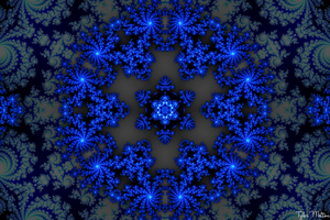Crystaline Snowflake by t-dgfx