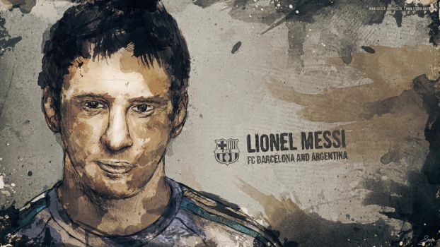 Lionel Messi by LuXo-Art