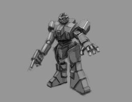 Robot study by foofighters111