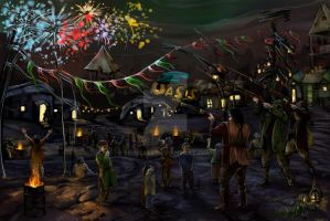New Year on Wastelands by Lenika86