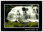 Bond Falls by jazzkidd