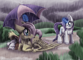 On a Rainy Day by InuHoshi-to-DarkPen