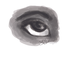 Eye Speedpaint by olokp