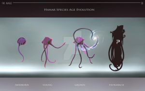 Hanar species age evolution by ArtemyMaslov
