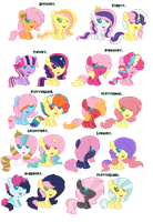 Fluttershy Shipping Adopts. [CLOSED] by Pixel-Pony-Adopts
