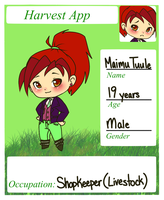 Harvest Moon Roleplay Application by Narkootikumid