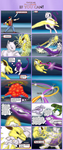 Rvm Mewtwo vs Jolteon by cretaceousisle