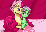 FlutterAlex and Pinkewe - digital version by mirry92