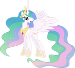Happy Princess Celestia by 90Sigma