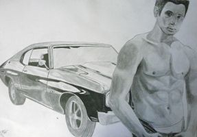 Dean Winchester by ElocinImages