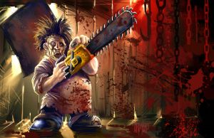 Lil' Leatherface 2012 by Grimbro