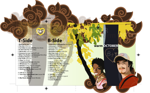 Warm October CD Booklet by dragonorion