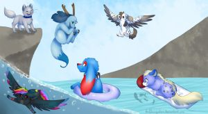 Water Fun - Contest Entry by Hoffnungsstern