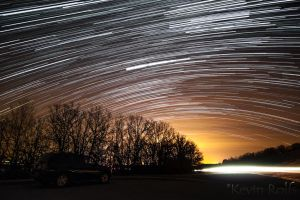 Copan Lake Star Trail by Bvilleweatherman