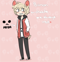 Simon the Spinda by sylveonprince