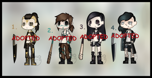 Post Apocalyptic Adopts (CLOSED) by Adopt-From-Frog