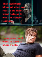 Hunger Games Awkward Moment of Truth... by TributeCI
