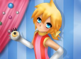 Len Kagamine : Ponponpon by LadyGalatee