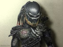 Predator Hyperrealistic art 3D with video - by Saules-dievas