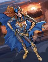 Batgirl ame comi standing by timothylaskey