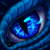 Eye-Con Comish - Lightning Stare by TwilightSaint