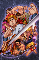 FINAL FIGHT DOUBLE IMPACT by alexss