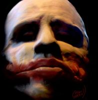 The Joker is made of clay. by Seancarroll