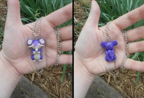 Rattata Necklace by Sara121089
