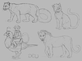 Point Donation Sketches by DeyVarah