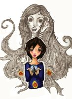 Other Mother and Coraline by g00glieworm
