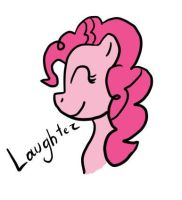 Pinkie Pie: Laughter by HumanyUnicorn59