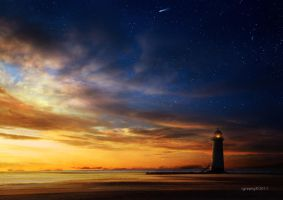 Lighthouse by igreeny